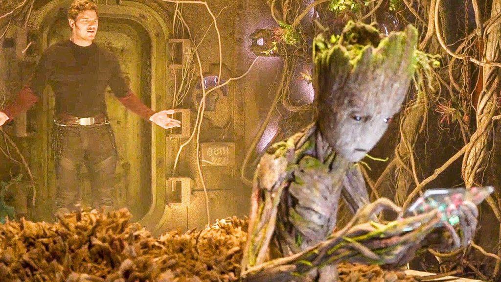 Vin Diesel -Guardiões da Galáxia Groot adolescente