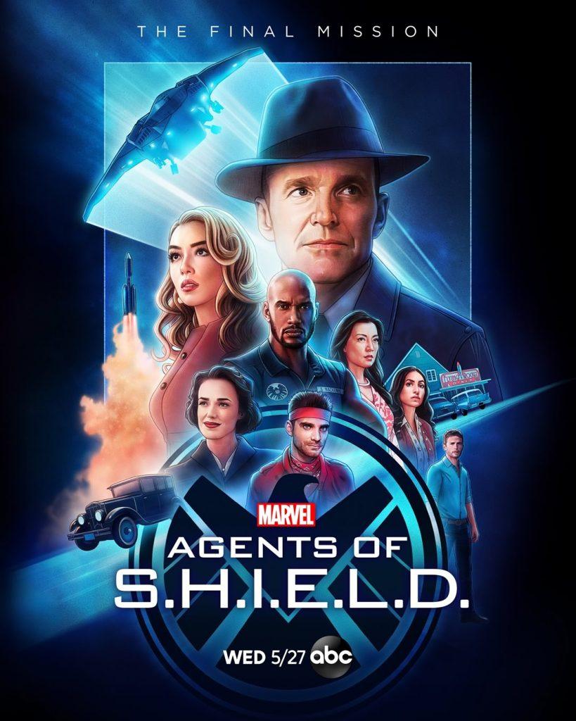 Agents of SHIELD - Pôster da Sétima e Última Temporada