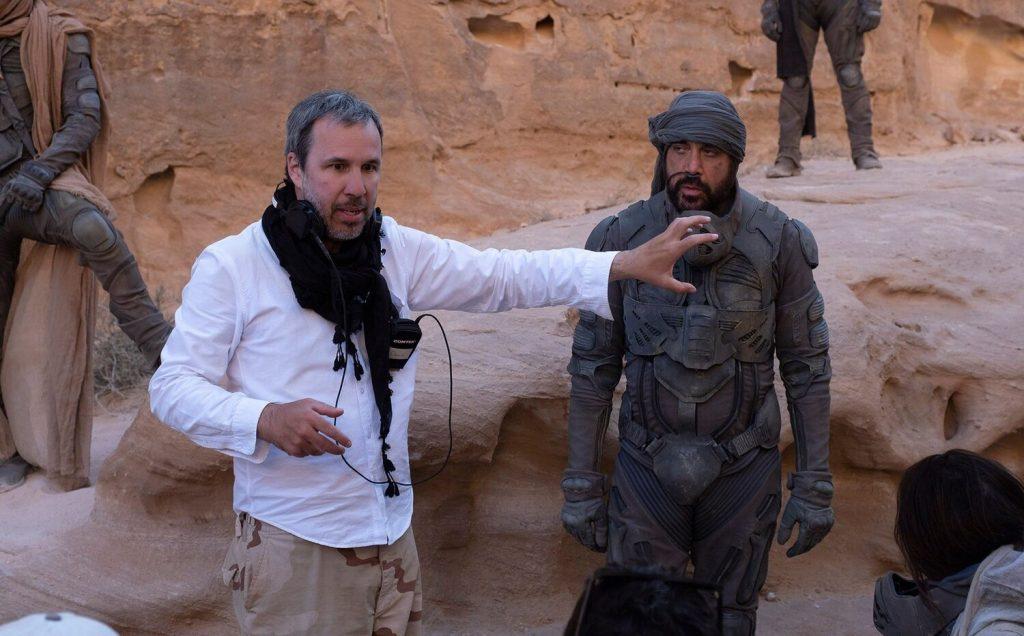 DUNA de Denis Villeneuve fotos com Timothée Chalamet e elenco