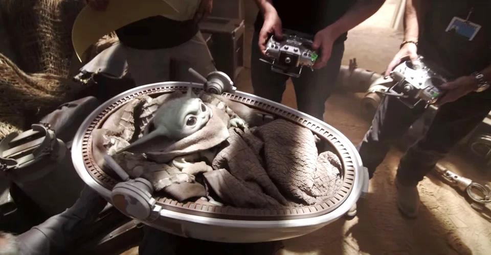 Disney Gallery The Mandalorian Documentário Bastidores Tecnologia e Efeitos Especiais