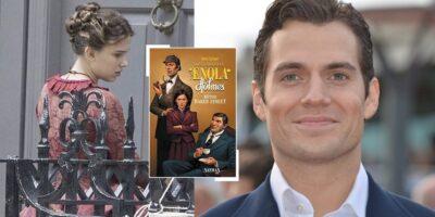 Os Mistérios de Enola Holmes filme com Millie Bobby Brown e Henry Cavill estreará na Netflix