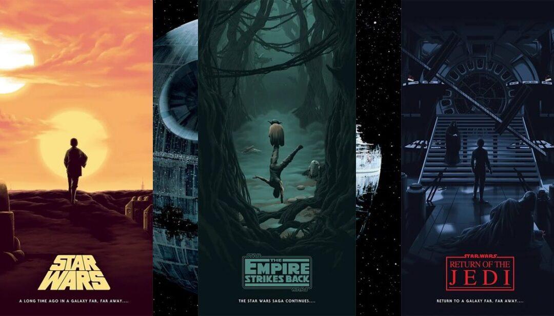 A Jornada de Luke Skywalker retratada nos posters criados por Florey Focus