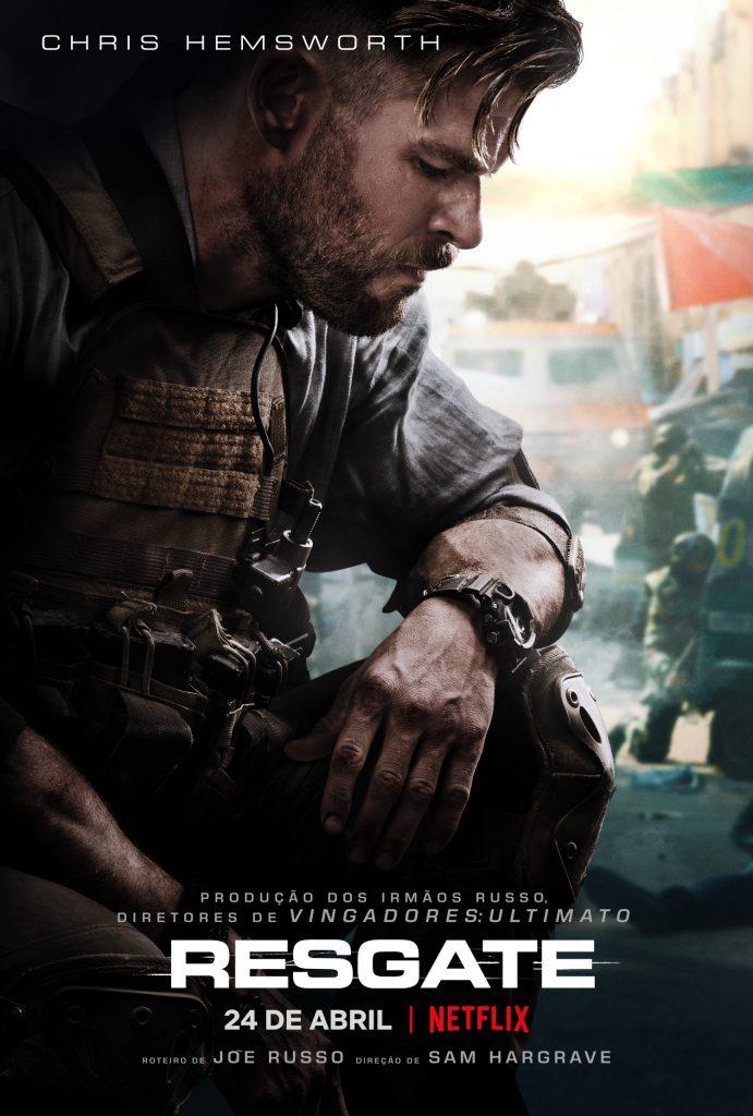 Chris Hemsworth em trailer de Regate filme da Netflix