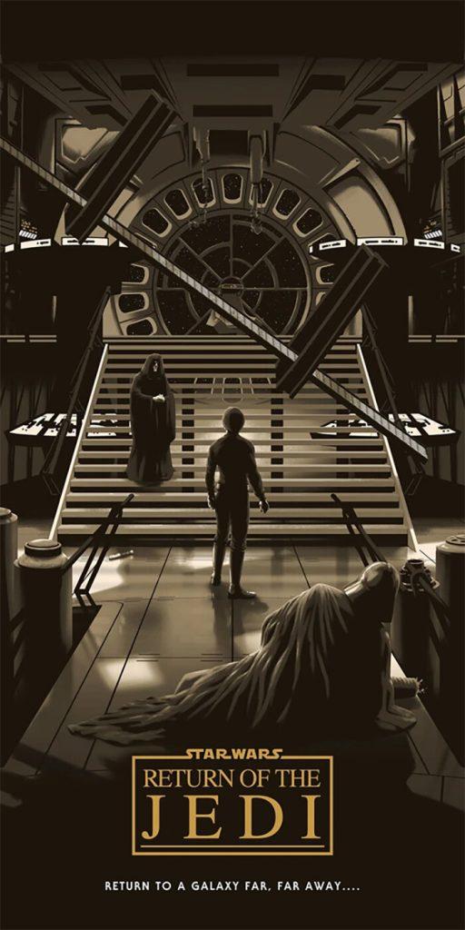 A Jornada de Luke Skywalker nos posters criados por Florey Focus