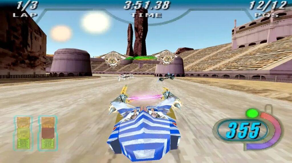Star Wars Episodio I Racer Telas 1 1024x574 - Relançamento de Star Wars Episódio I: Racer para Nintendo Switch e PlayStation 4