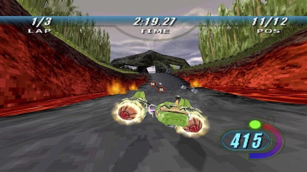 Star Wars Episodio I Racer Telas 2 1024x574 - Relançamento de Star Wars Episódio I: Racer para Nintendo Switch e PlayStation 4