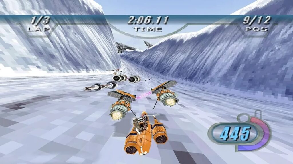 Star Wars Episodio I Racer Telas 3 1024x574 - Relançamento de Star Wars Episódio I: Racer para Nintendo Switch e PlayStation 4