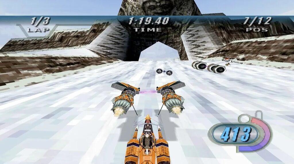 Star Wars Episodio I Racer Telas 4 1024x574 - Relançamento de Star Wars Episódio I: Racer para Nintendo Switch e PlayStation 4