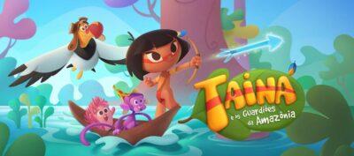 Tainá e os Guardiões da Amazônia chega à Netflix