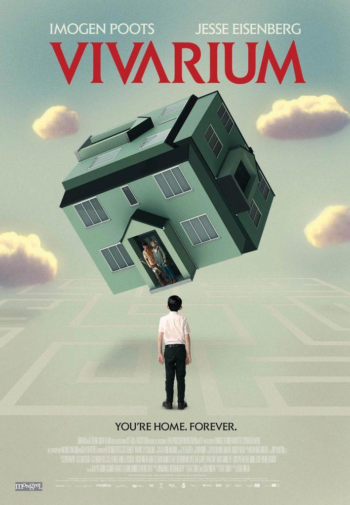 Vivarium Ficção Científica com Jesse Eisenberg e Imogen Poots