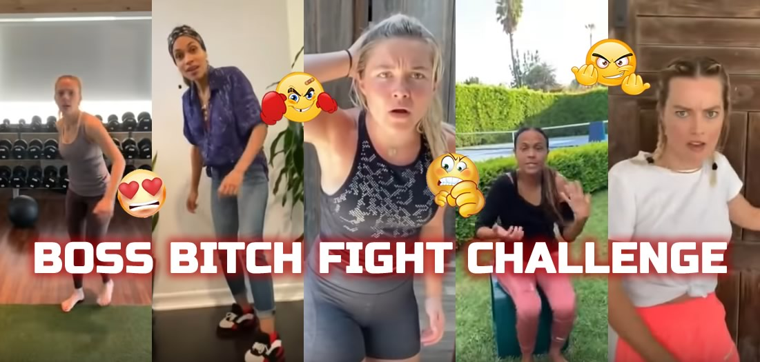 BOSS BITCH FIGHT CHALLENGE - Zoe Bell