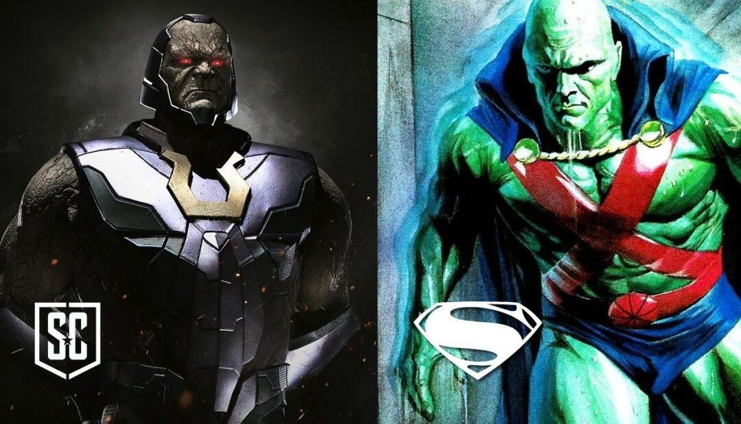 Ray Porter confirma que Darkseid estará presente no SNYDER CUT e Zack Snyder revela Ajax em Homem de Aço
