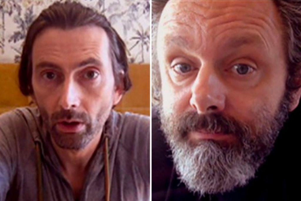 David Tennant e Michael Sheen, a dupla de Good Omens, série da Amazon Prime Vídeo, estão de volta e desta vez na comédia STAGED produzida pela BBC.