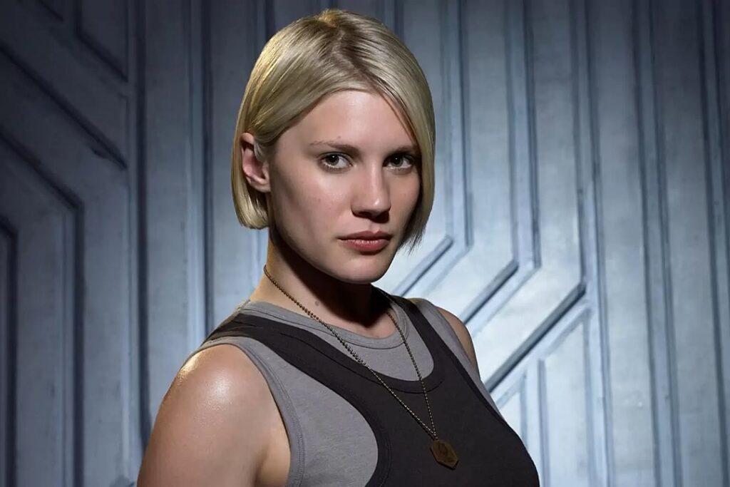 """Katee Sackhoff, a inesquecível Starbuck da série """"Battlestar Galactica"""" (2004–2009)"""