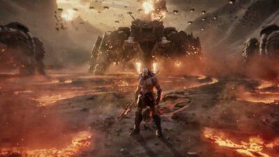 SNYDER CUT   Zack Snyder compartilha foto de Darkseid de sua versão de Liga da Justiça
