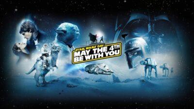 Star Wars Day – Quatro de maio esteja com você