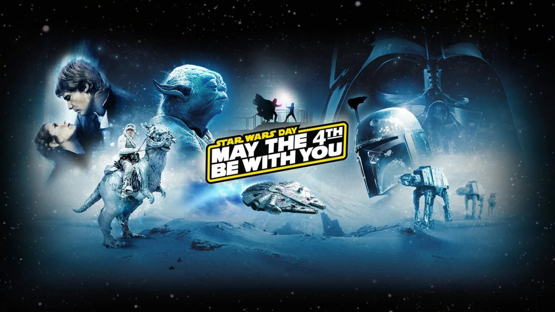 Star Wars Day - Quatro de maio esteja com você