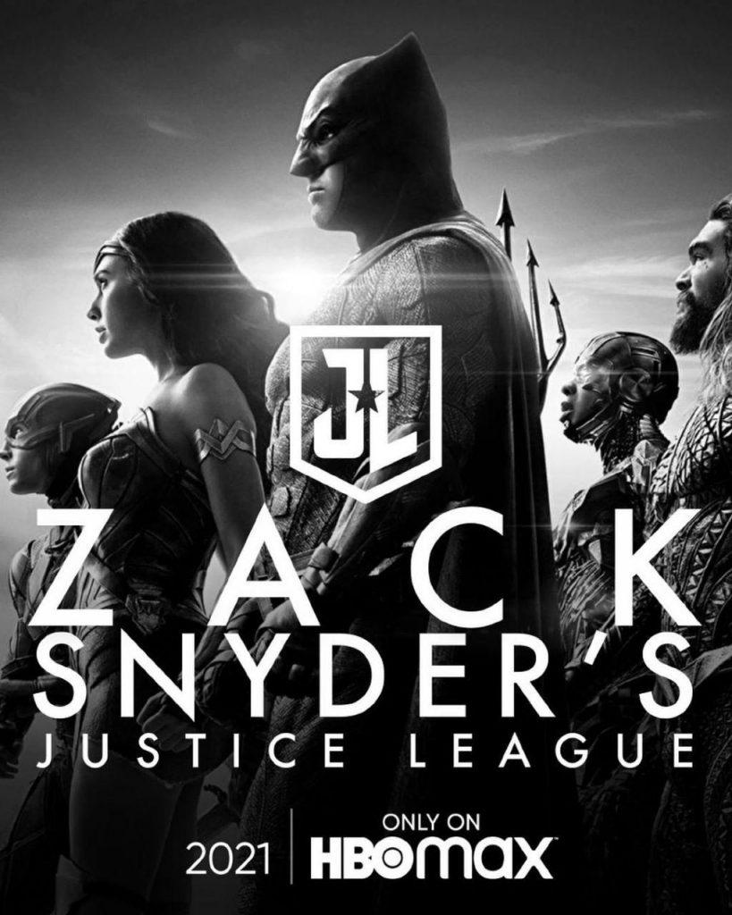 SNYDER CUT - Liga da Justiça versão de Zack Snyder do filme será lançada na HBO Max
