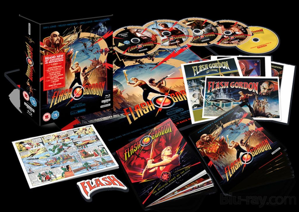 flash gordon edicao colecionador em 4k Bonus 1024x725 - FLASH GORDON | Lançamento de edição de colecionador em 4k e vários bônus
