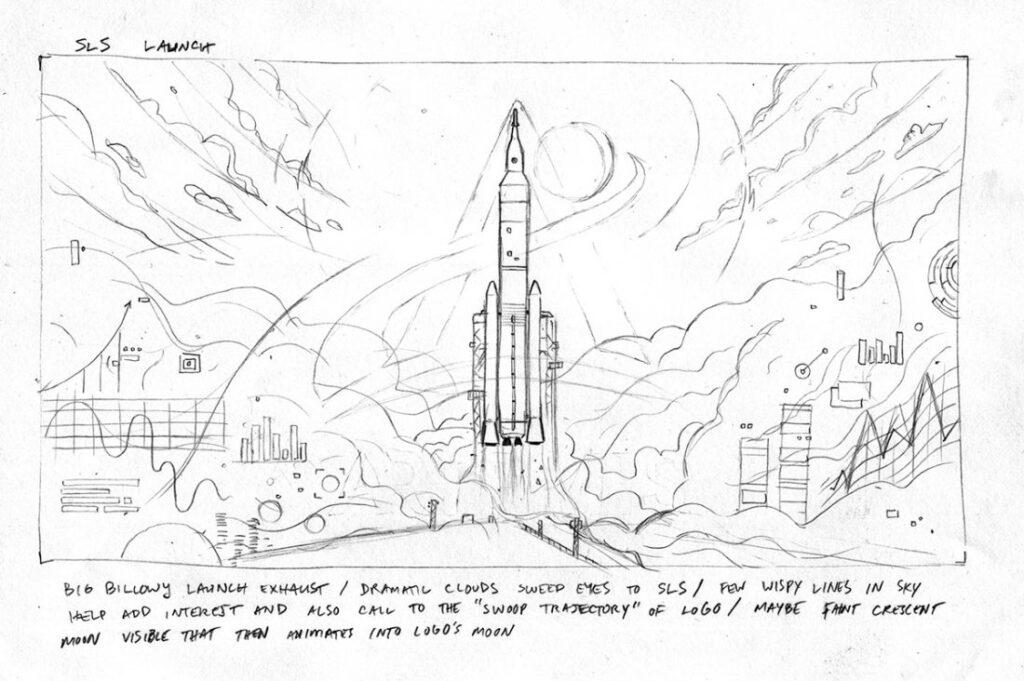 Artemis Arte conceitual de MAtt Chinworth 1a 1024x681 - NASA divulga animação narrada por Kelly Tran explicando como planejam retornar à Lua