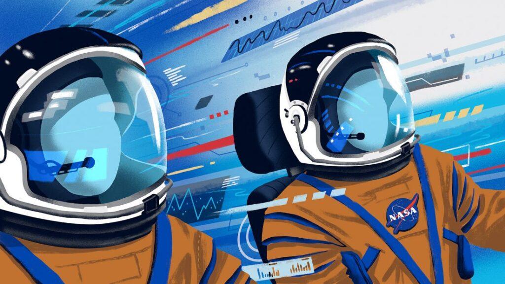 Artemis Arte conceitual de Matt Chinworth 5 1024x576 - NASA divulga animação narrada por Kelly Tran explicando como planejam retornar à Lua