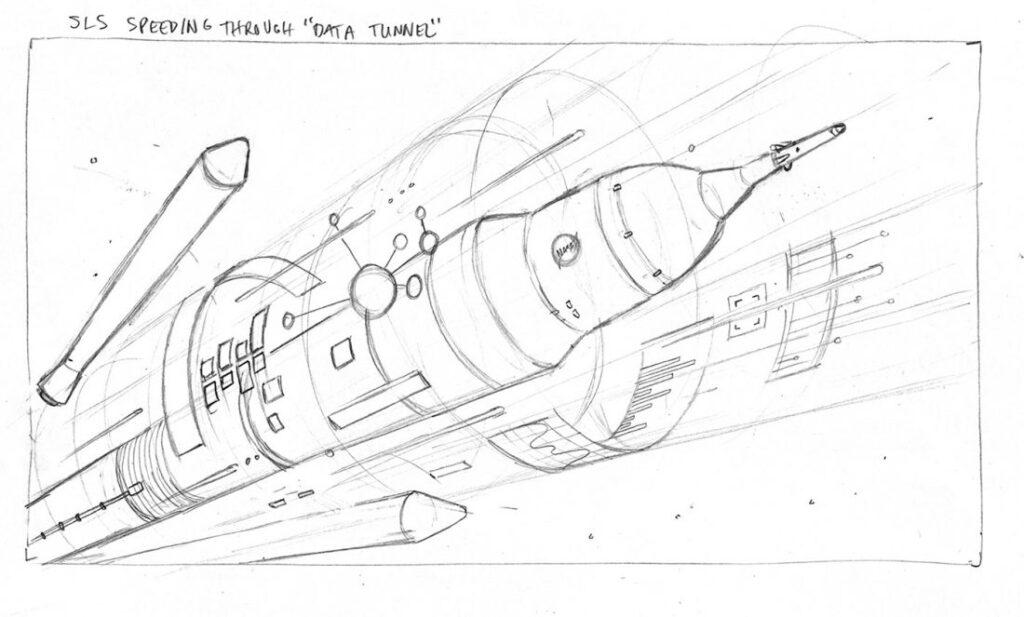 Nasa Projeto Artemis - Arte conceitual de Matt Chinworth