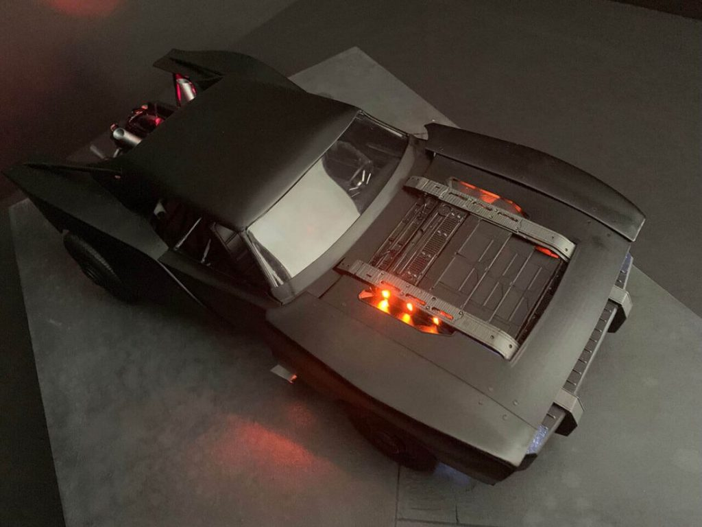 O artista Jeff Frost fez um modelo do BatMóvel de Robert Pattinson em The Batman