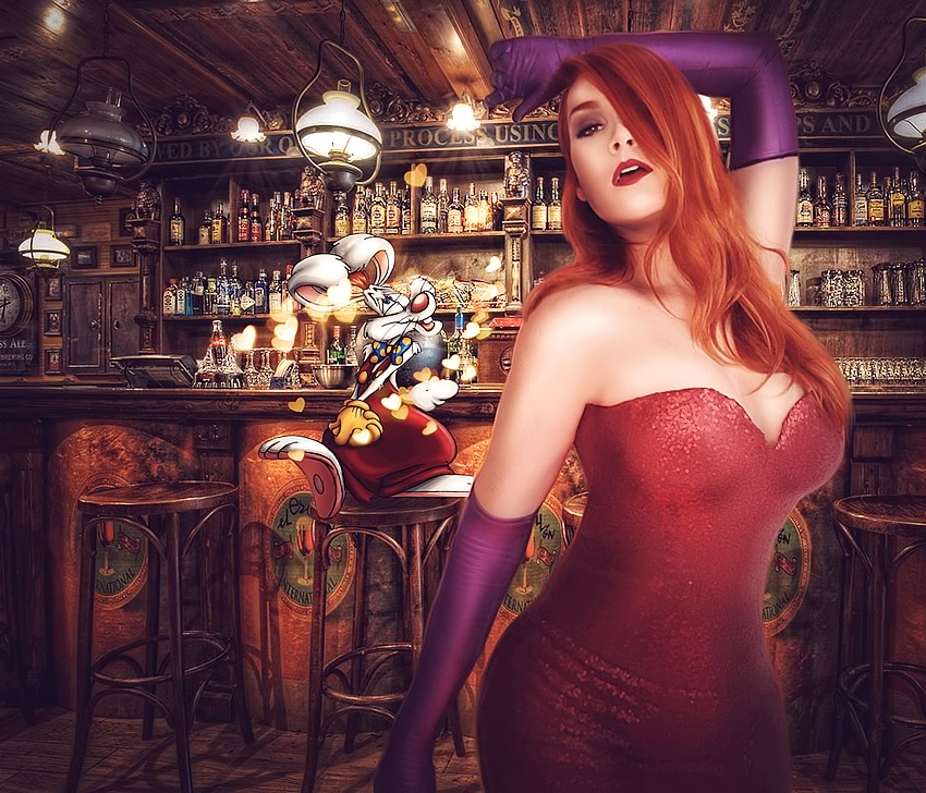Bianca Contursi Jessica Rabbit Cosplay - Bianca Contursi - Cosplay