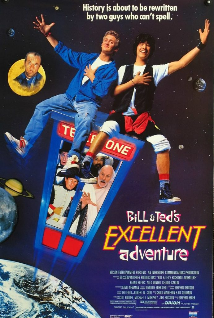 Bill & Ted Uma Aventura Fantástica - 1989