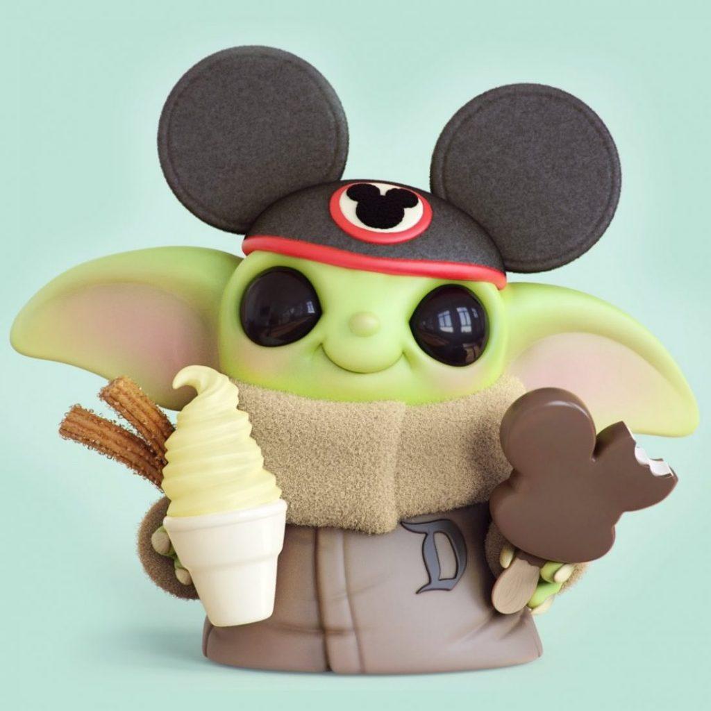 Chris Bobinski Baby Yoda 4 1024x1024 - O artista Chris Bobinski cria versões fofas de Baby Yoda e Baby Maul