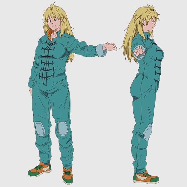 Nikaidō, amiga de Caiman