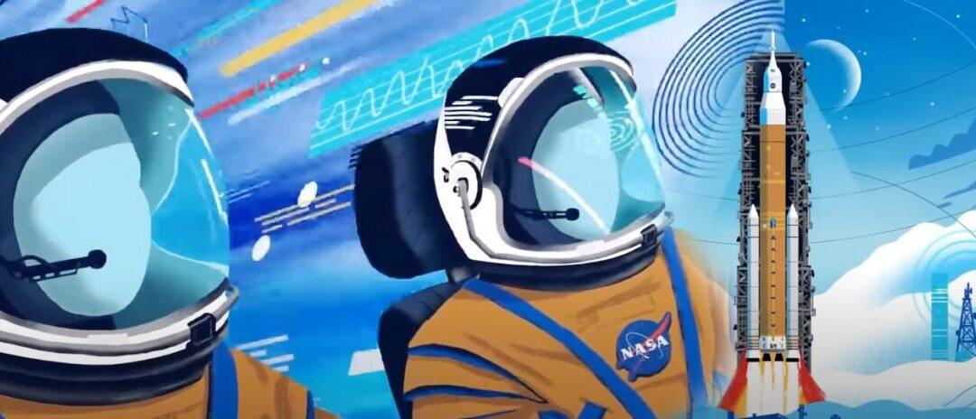 NASA divulga animação narrada por Kelly Tran explicando como planejam retornar à Lua