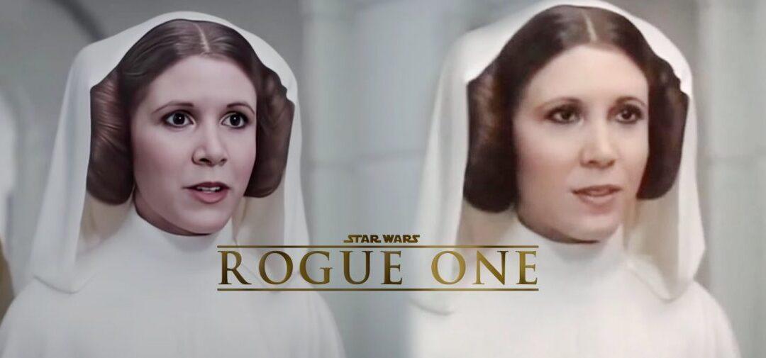 ROGUE ONE | Como o DEEPFAKE poderia ter melhorado o CGI da Princesa Leia