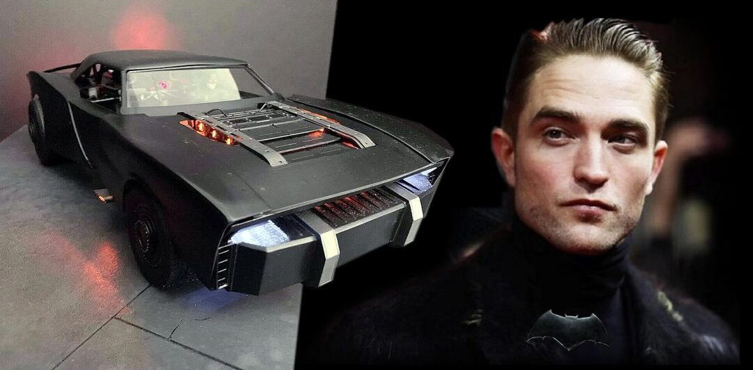 The Batman   O artista Jeff Frost fez um modelo do Batmóvel de Robert Pattinson