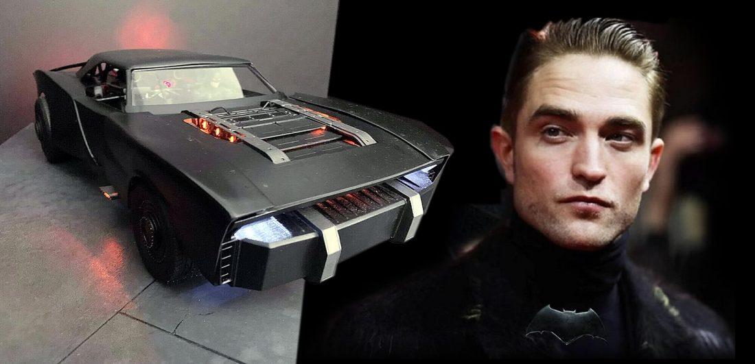 The Batman - Jeff Frost construíu o modelo conceitual do BatMóvel de Robert Pattinson