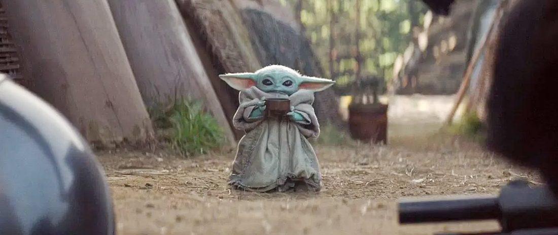 The Mandalorian Primeira Temporada Baby Yoda tomando sopinha - The Mandalorian | Quiz da Primeira Temporada