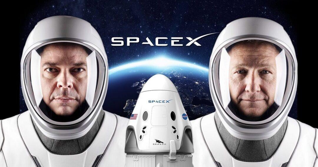 Trajes espaciais da SPACE X foram projetados pelo designer da Marvel e da DC