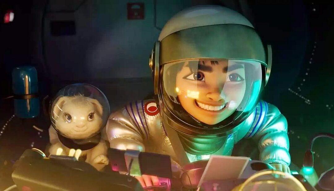 A CAMINHO DA LUA   Trailer da nova animação da Netflix dirigida por Glen Keane