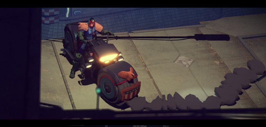 juiz dredd animacao estudio aixa 4 1024x488 - JUIZ DREDD   Animação teste do Studio AiXA cai na internet