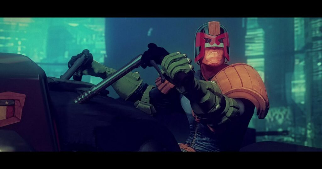 juiz dredd animacao estudio aixa 9 1024x540 - JUIZ DREDD   Animação teste do Studio AiXA cai na internet