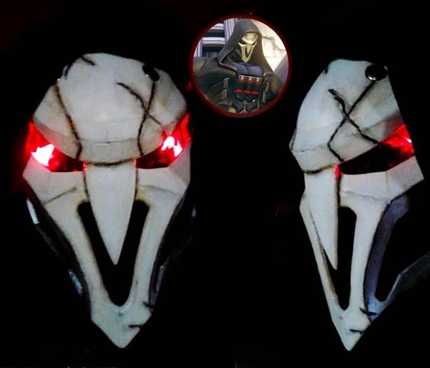 red studios reaper overwatch - RED STUDIOS - Cosplay e Acessórios