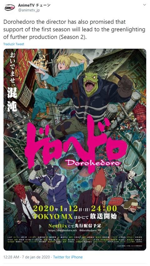 segunda temporada dorohedoro anime na netflix - Dorohedoro | Conheça a primeira temporada da série anime na Netflix