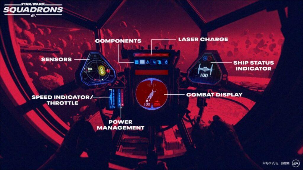 star wars squadrons jogabilidade 3 1024x576 - STAR WARS: SQUADRONS | EA Games divulgou vídeo de jogabilidade novo jogo de Star Wars