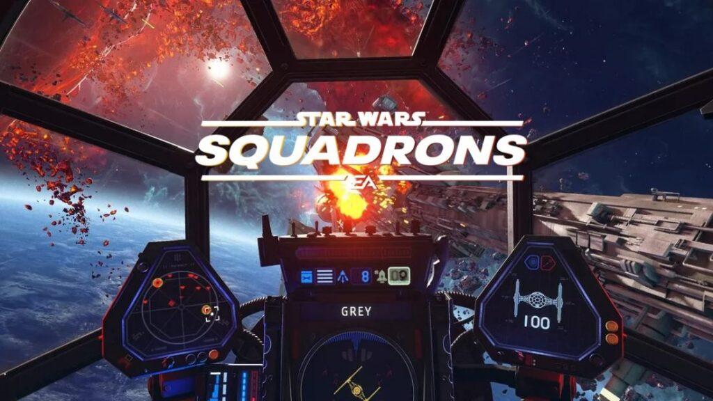 STAR WARS: SQUADRONS   EA Games divulgou o trailer de jogabilidade e customização