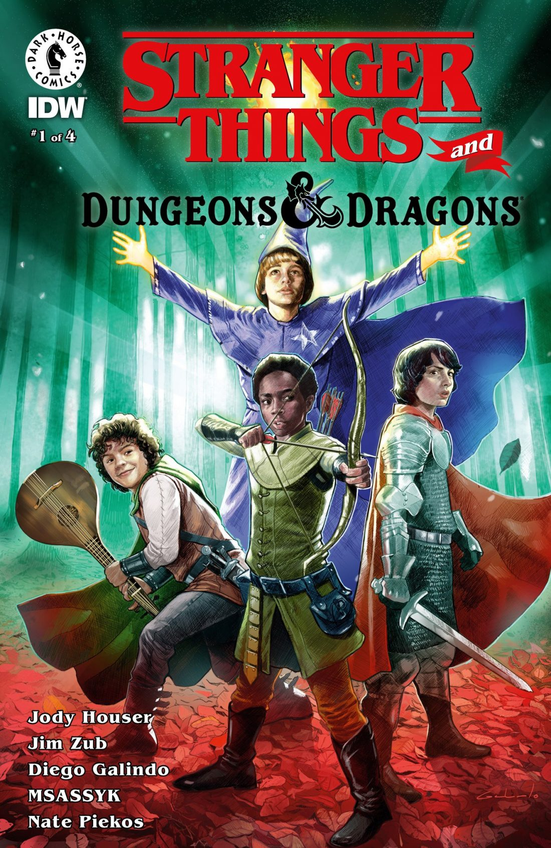 Crossover Dark Horse - STRANGERS THINGS e DUNGEONS & DRAGONS