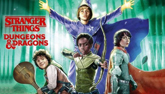 STRANGERS THINGS e DUNGEONS & DRAGONS | Dark Horse Comics irá publicar HQ com o crossover da série com o RPG