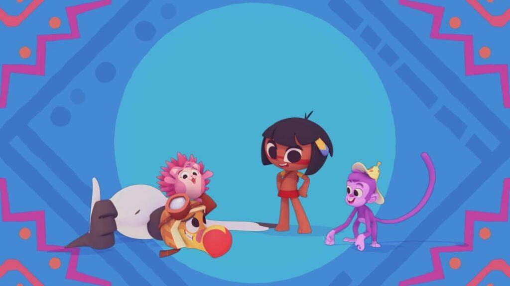 Tainá e os Guardiões da Amazônia recebeu o troféu de Melhor Série de Animação Ibero-americana