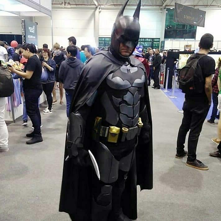altevir frank batman de curitiba eventos - Altevir Frank Batman de Curitiba - Cosplayer