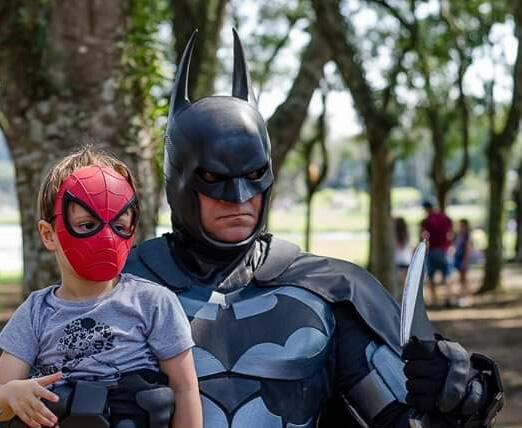 altevir frank batman de curitiba heroes e cia - Altevir Frank Batman de Curitiba - Cosplayer