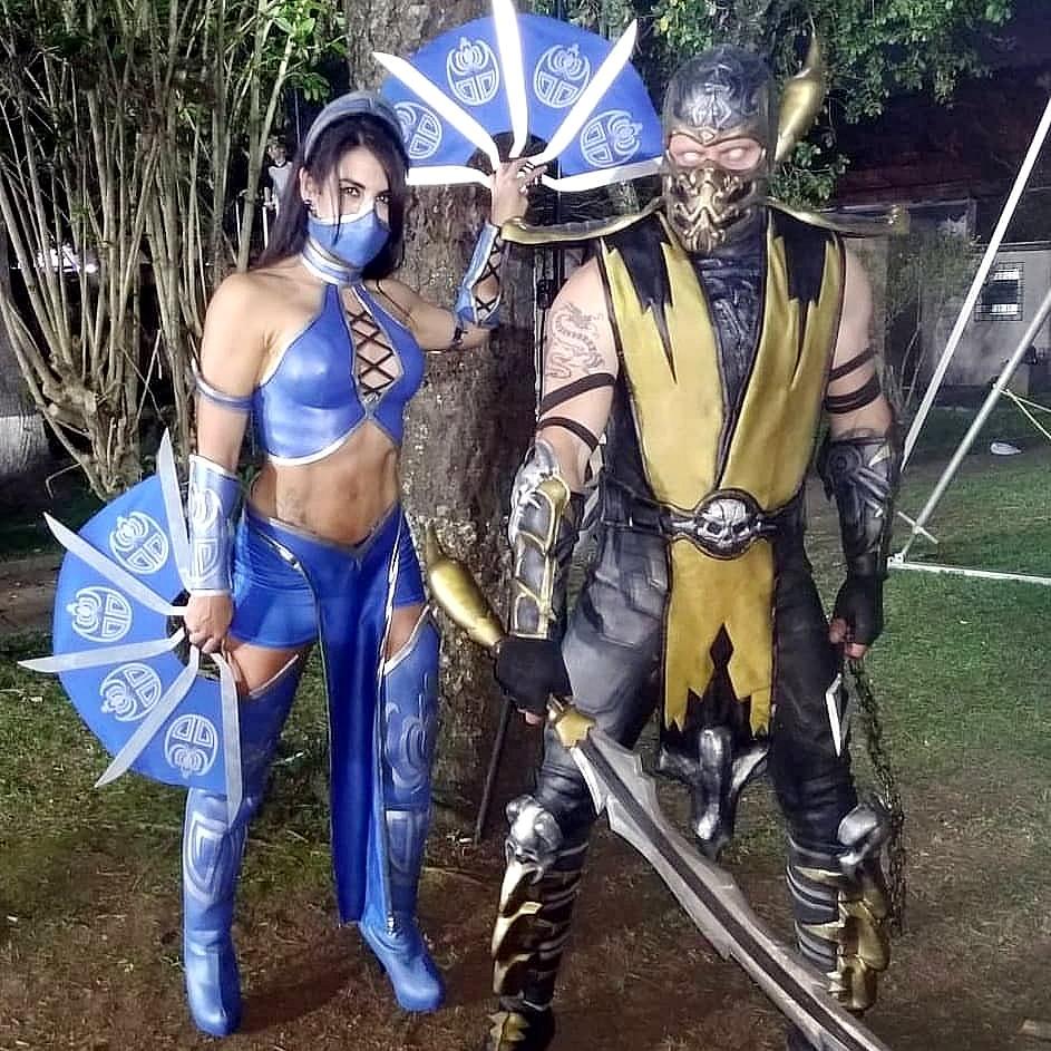 cosplay mortal kombat 1 - Mortal Kombat - Cosplayers Josi e André